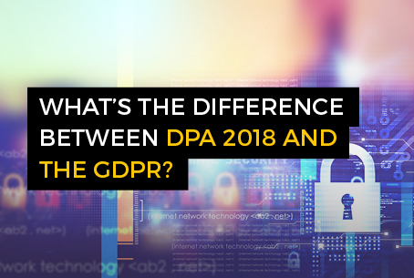 difference between DPA and GDPR