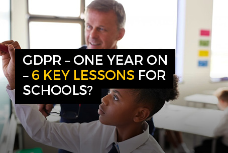 GDPR - 6 key lessons for schools