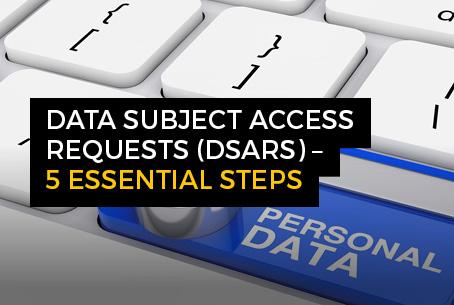 DSAR - 5 essential steps