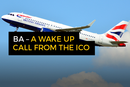 BA - A wake up call from the ICO with text