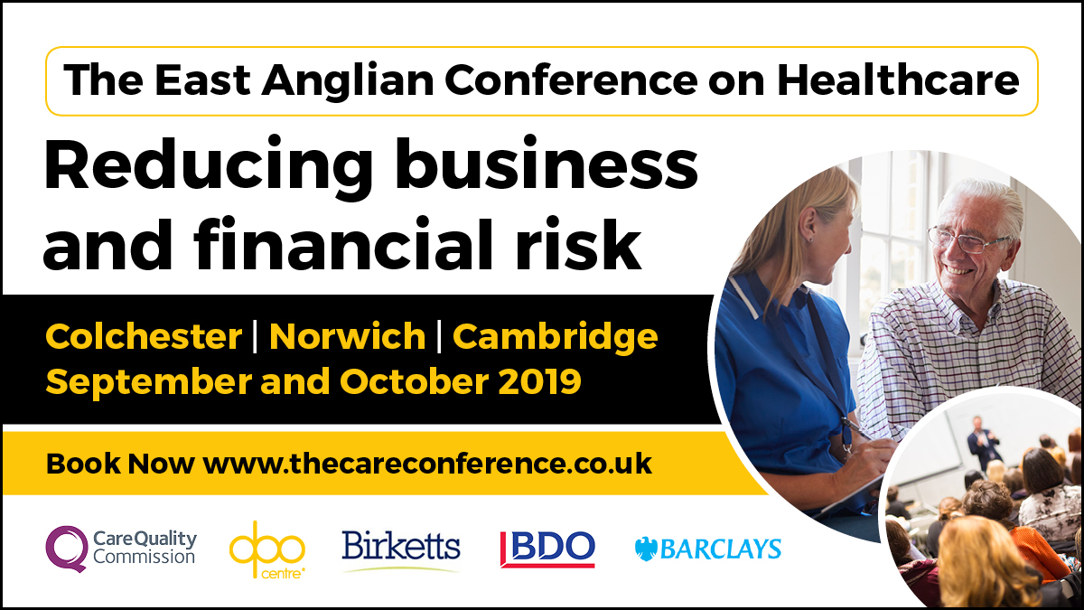 East Anglian Conference on Heathcare
