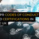 GDPR Codes of Conduct and Certifications in the UK
